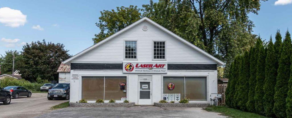 Laser Art Building